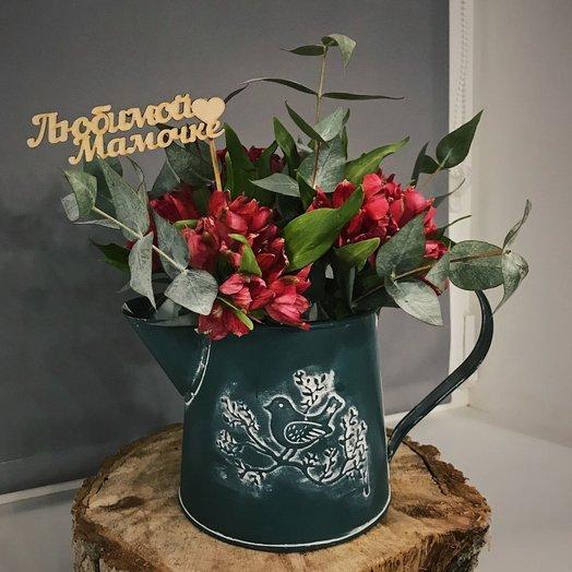 Кашпо: букеты цветов на заказ Flowwow