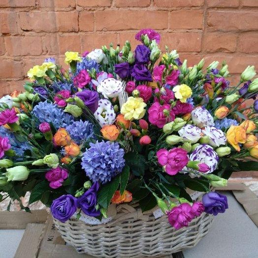Взрыв цвета: букеты цветов на заказ Flowwow