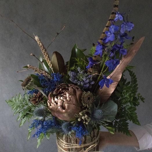 Мореплаватель в коре дерева: букеты цветов на заказ Flowwow