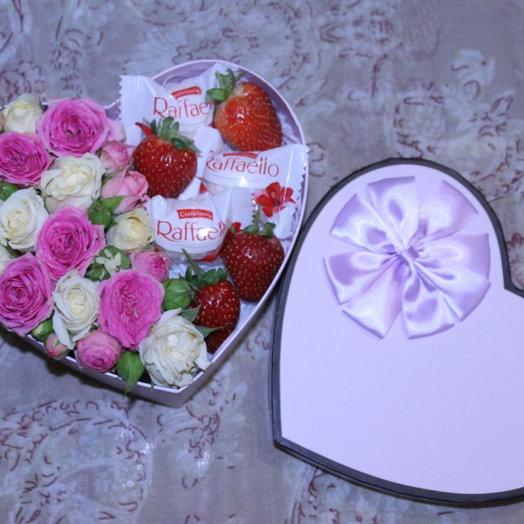Мини-сюрприз : букеты цветов на заказ Flowwow