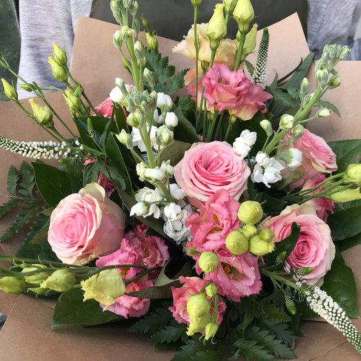Матиола и Вероника : букеты цветов на заказ Flowwow