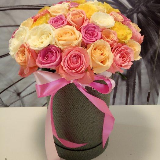 """""""Радуга"""": букеты цветов на заказ Flowwow"""