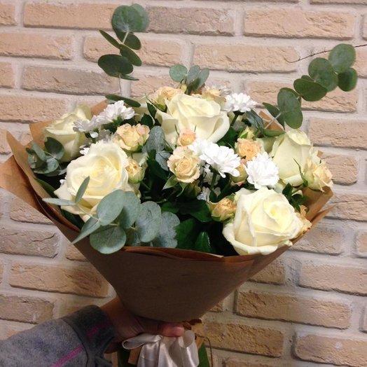 Для любимой : букеты цветов на заказ Flowwow