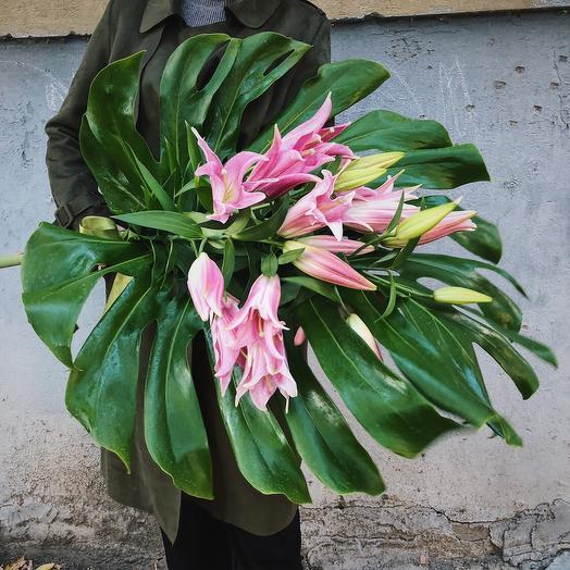 """Букет """"Сердце тропиков"""": букеты цветов на заказ Flowwow"""