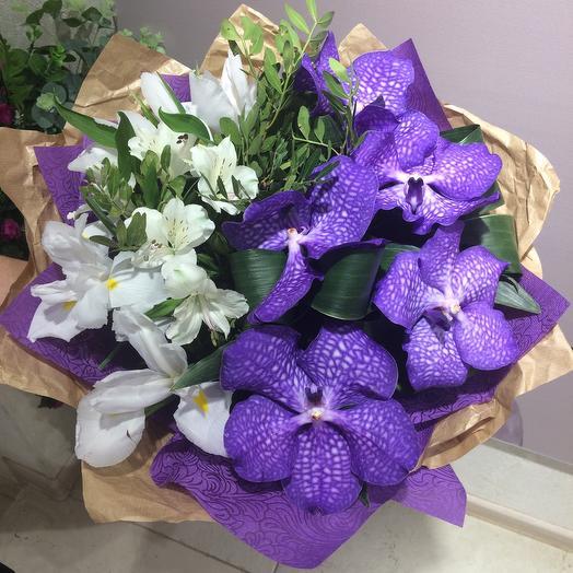 Букет лавандовый: букеты цветов на заказ Flowwow