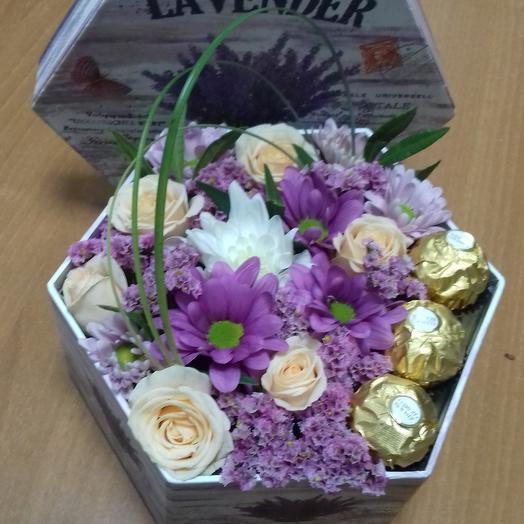 Композиция Милашке: букеты цветов на заказ Flowwow