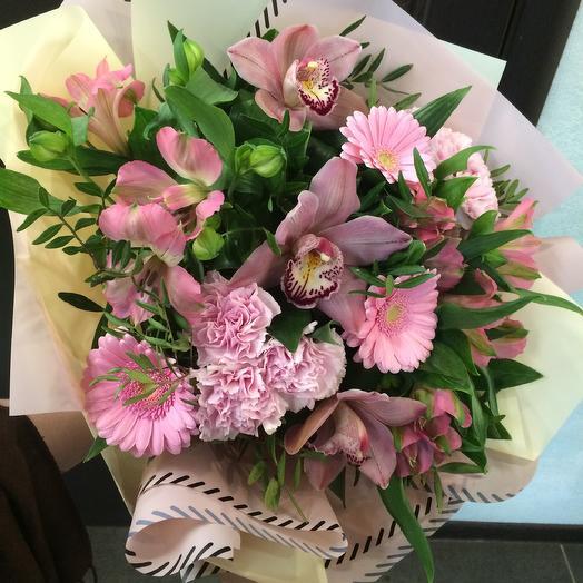 Букет Гармоничный аккорд: букеты цветов на заказ Flowwow