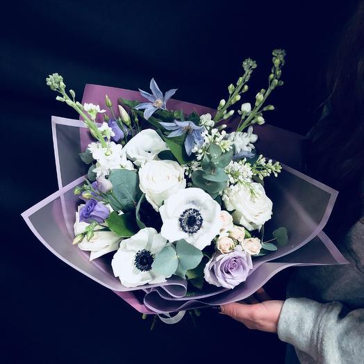Зимний комплимент ): букеты цветов на заказ Flowwow