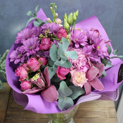 """Букет орхидей """"Манящий аромат"""""""