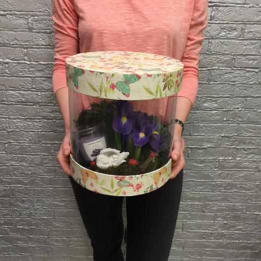 Ангел на полянке: букеты цветов на заказ Flowwow