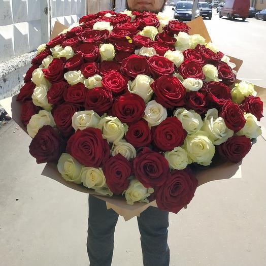 Довстречи, с тобой: букеты цветов на заказ Flowwow