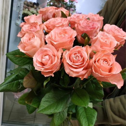 Букет из 15 роз 70 см: букеты цветов на заказ Flowwow