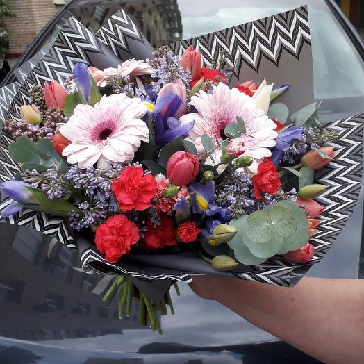Зигзак: букеты цветов на заказ Flowwow