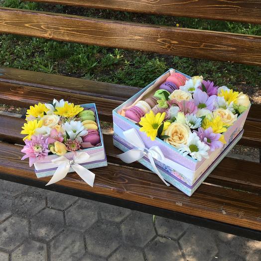 Композиция «Мама и дочка»: букеты цветов на заказ Flowwow
