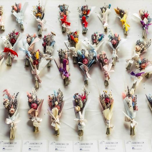 Букетик-комплиментик: букеты цветов на заказ Flowwow