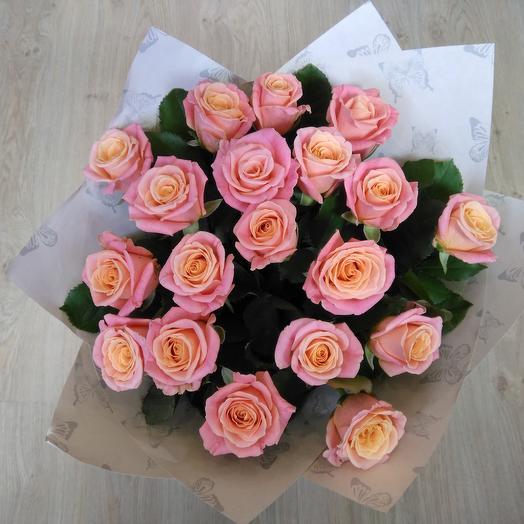 Моно букет Мисс Пигги: букеты цветов на заказ Flowwow