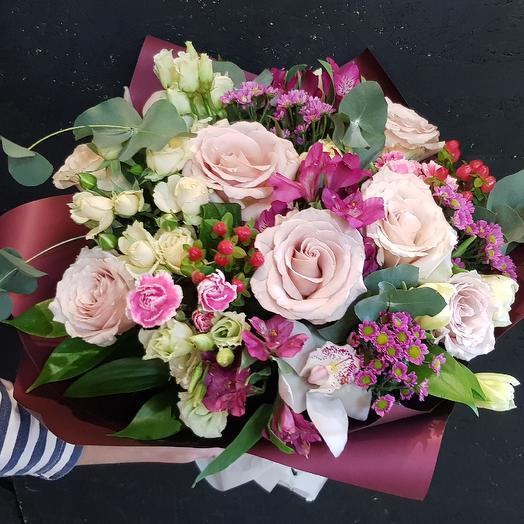 Букет N 5: букеты цветов на заказ Flowwow