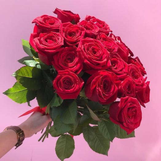 Роза «Ред Науми» 70 см