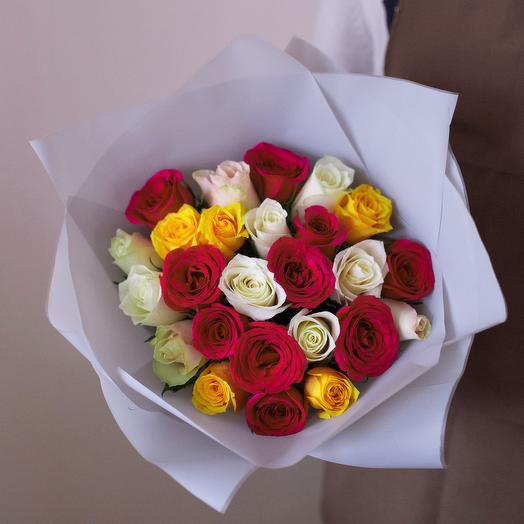 25 roses in the package: flowers to order Flowwow