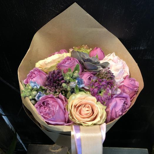 Маленький рай: букеты цветов на заказ Flowwow