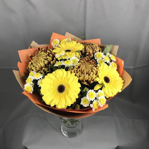 Много солнца не бывает)): букеты цветов на заказ Flowwow