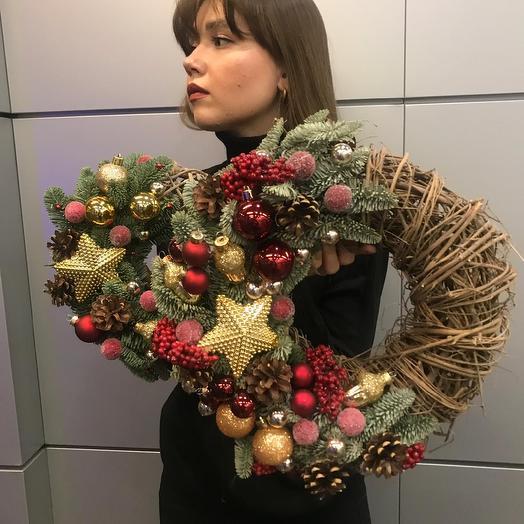 """Набор венков """"Звёзды"""": букеты цветов на заказ Flowwow"""