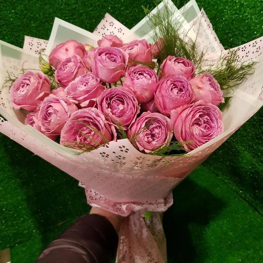 Мисти бабблз: букеты цветов на заказ Flowwow