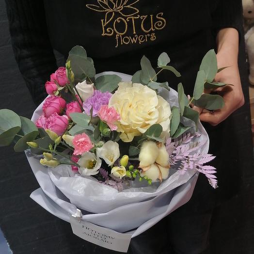 Потому что люблю! 💕: букеты цветов на заказ Flowwow
