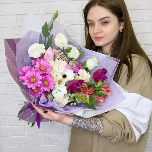 Букет «София»: букеты цветов на заказ Flowwow