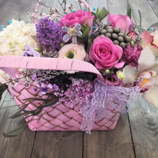 Сумка розовая нежность