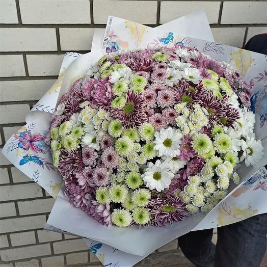 """Букет """"51 кустовая хризантема"""""""