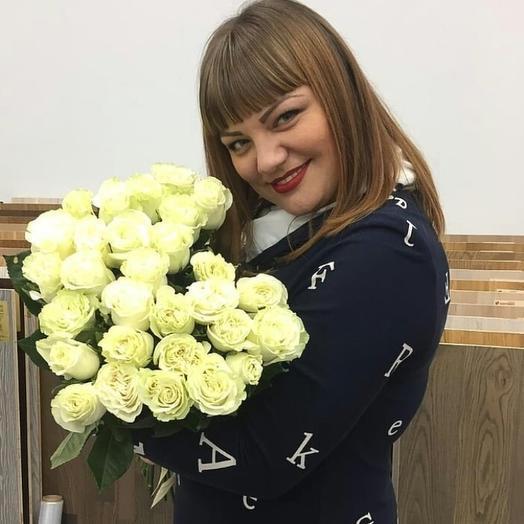 Розы Мондиаль 29 шт: букеты цветов на заказ Flowwow