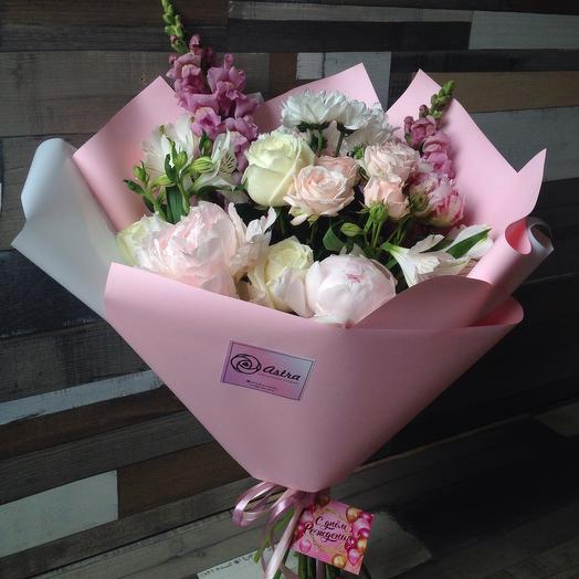 Невероятная Нежность: букеты цветов на заказ Flowwow
