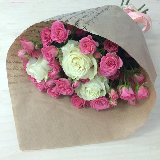 Комплимент из роз