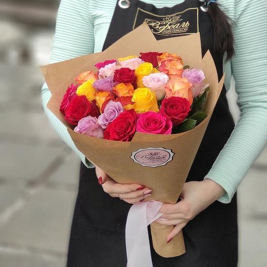 25 Роз (40 см)
