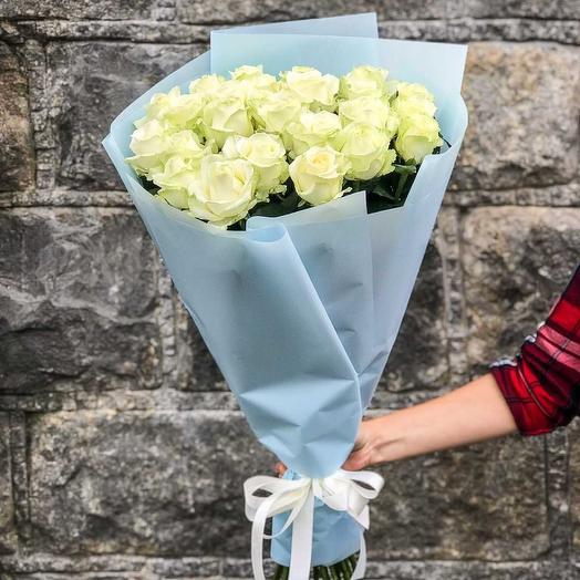 Букет из белых роз 25
