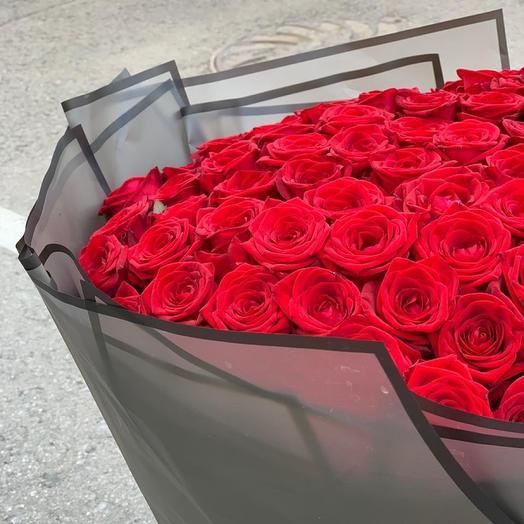 101 роза из красных сортов роз