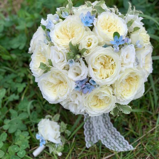 Букет невесты Luxury Flowers Ароматная роза