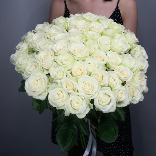 """Букет из 51 розы """"Avalanche"""""""