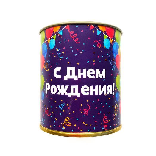 """Кофе-консервы """" С днем рождения!"""""""