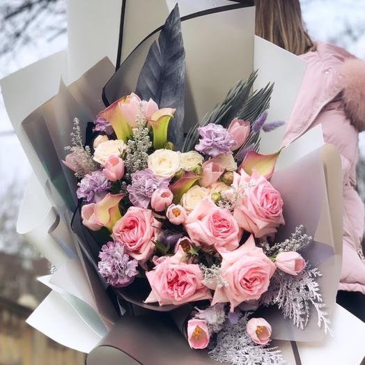 Розовый пломбир