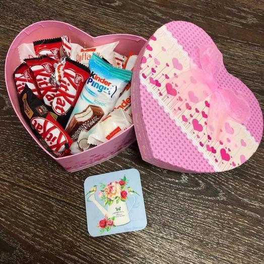 Коробочка со сладостями 💖
