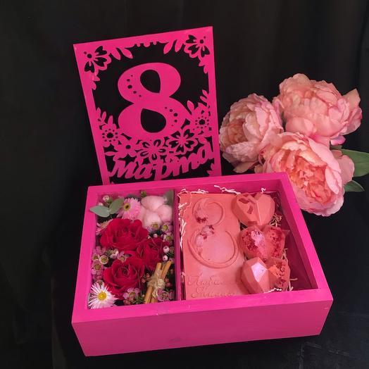 Сладкое 8 марта Pink