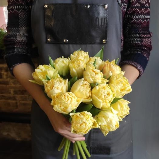 Тюльпан 15шт Крем
