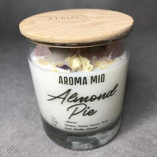 Аромасвеча «Almond pie