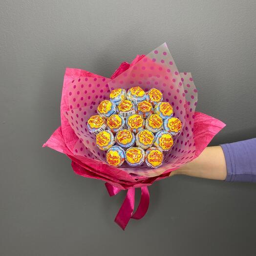 """Bouquet of """" Chupa Chyps»"""