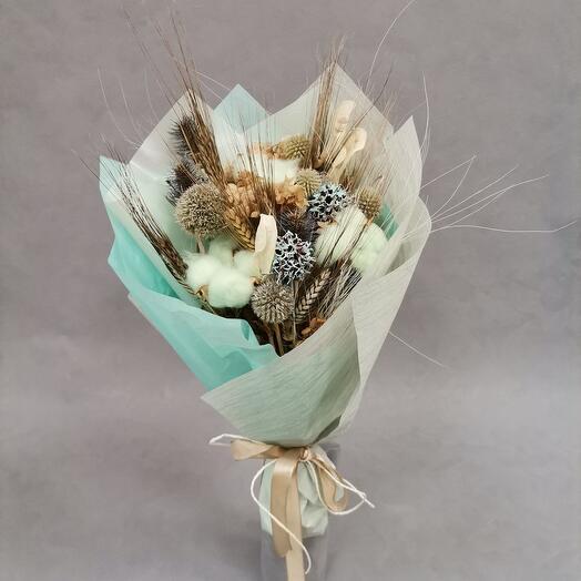 Амели. Нежный букет из сухоцветов