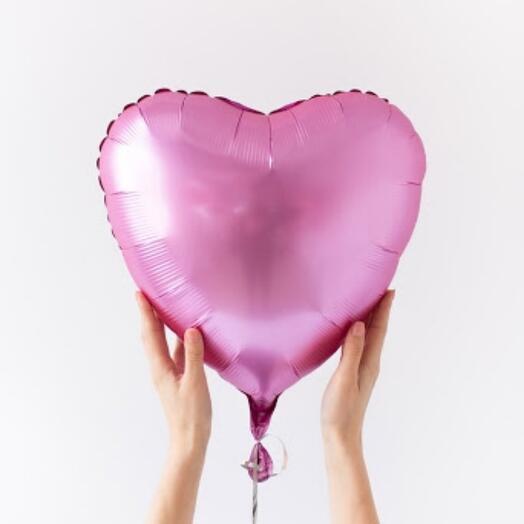 Шарик фольгированный сердце