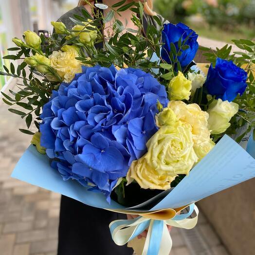 Синий элегант