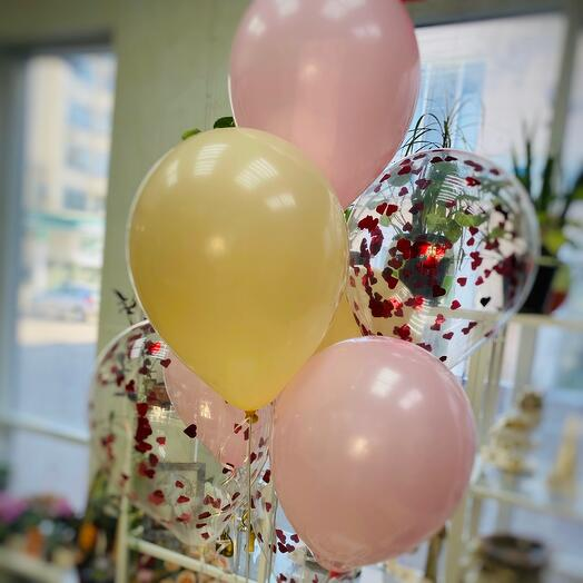 Набор воздушных шаров(9 штук)